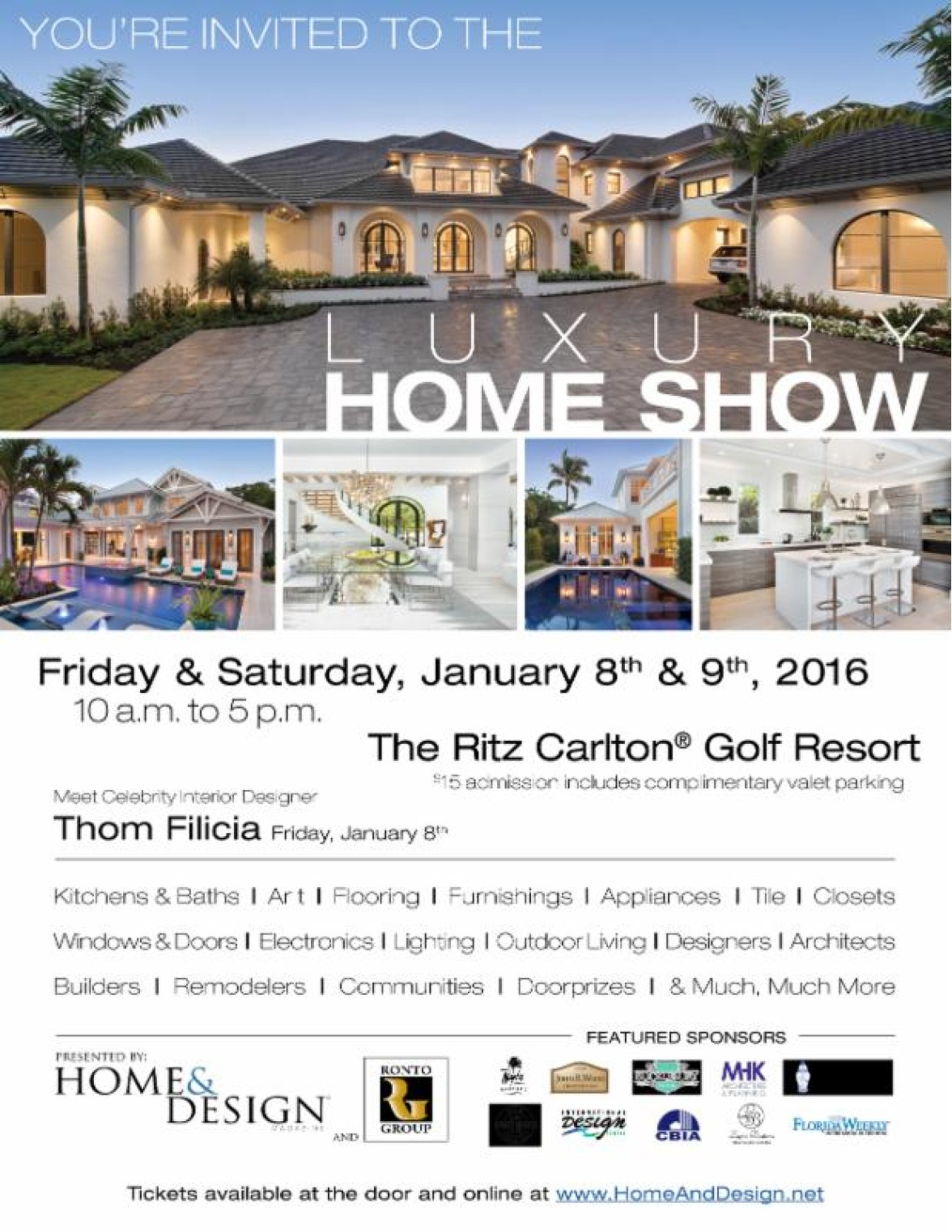 Home & Design Show Invite | Kira Krümm